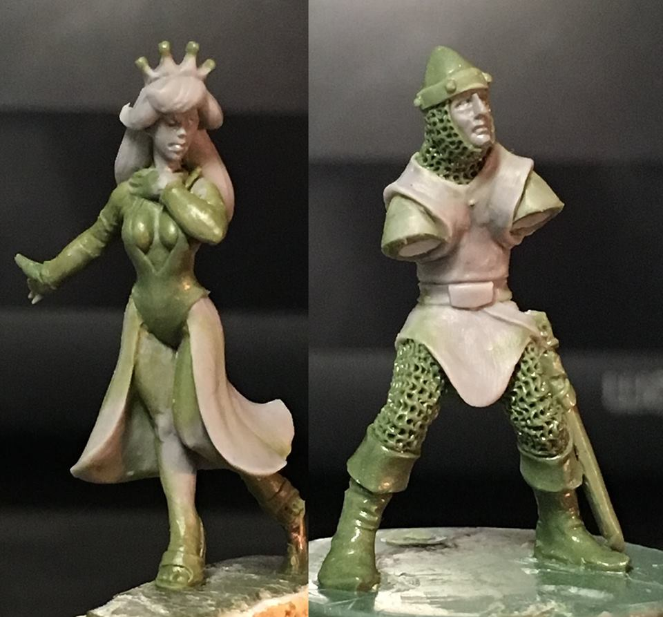 Not Dragons Lair - Hasslefree Miniatures