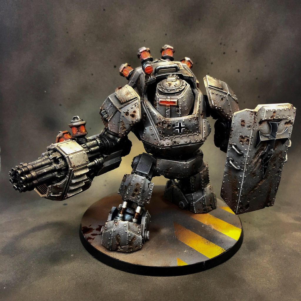 Painted Vril Panzer - Mythic Games