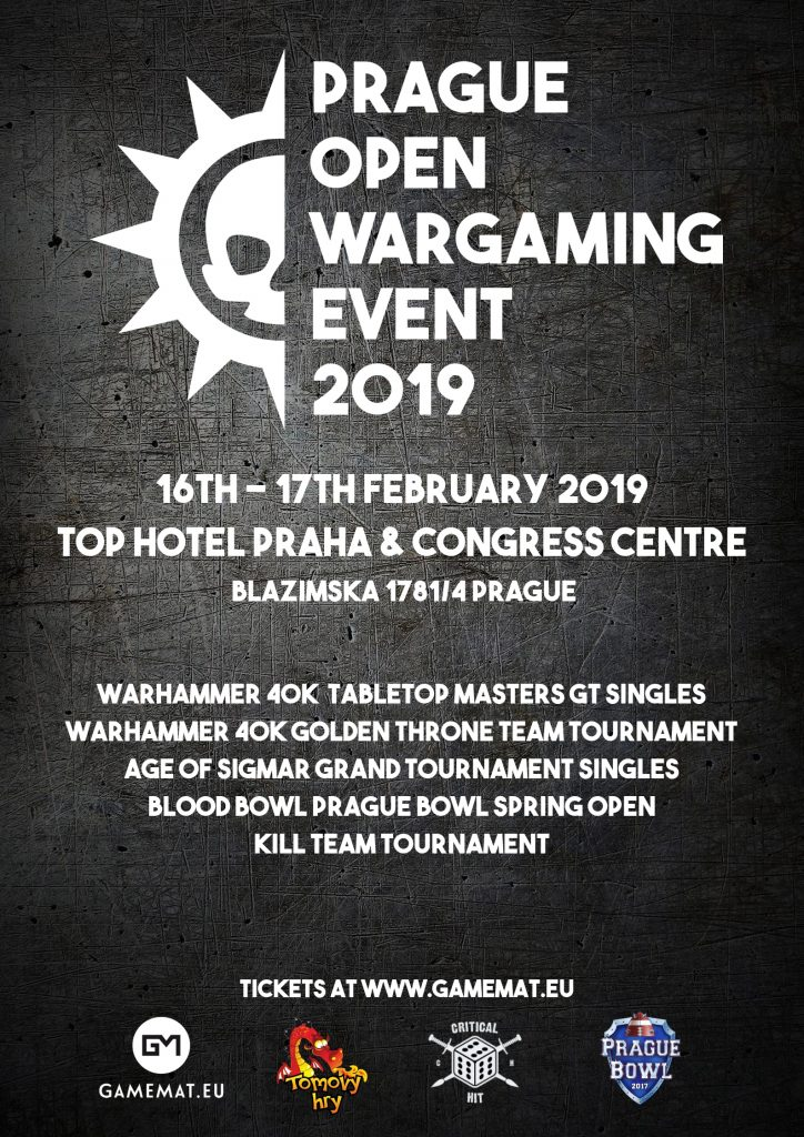 Prague Open Wargaming Event 2019 - GameMat.Eu