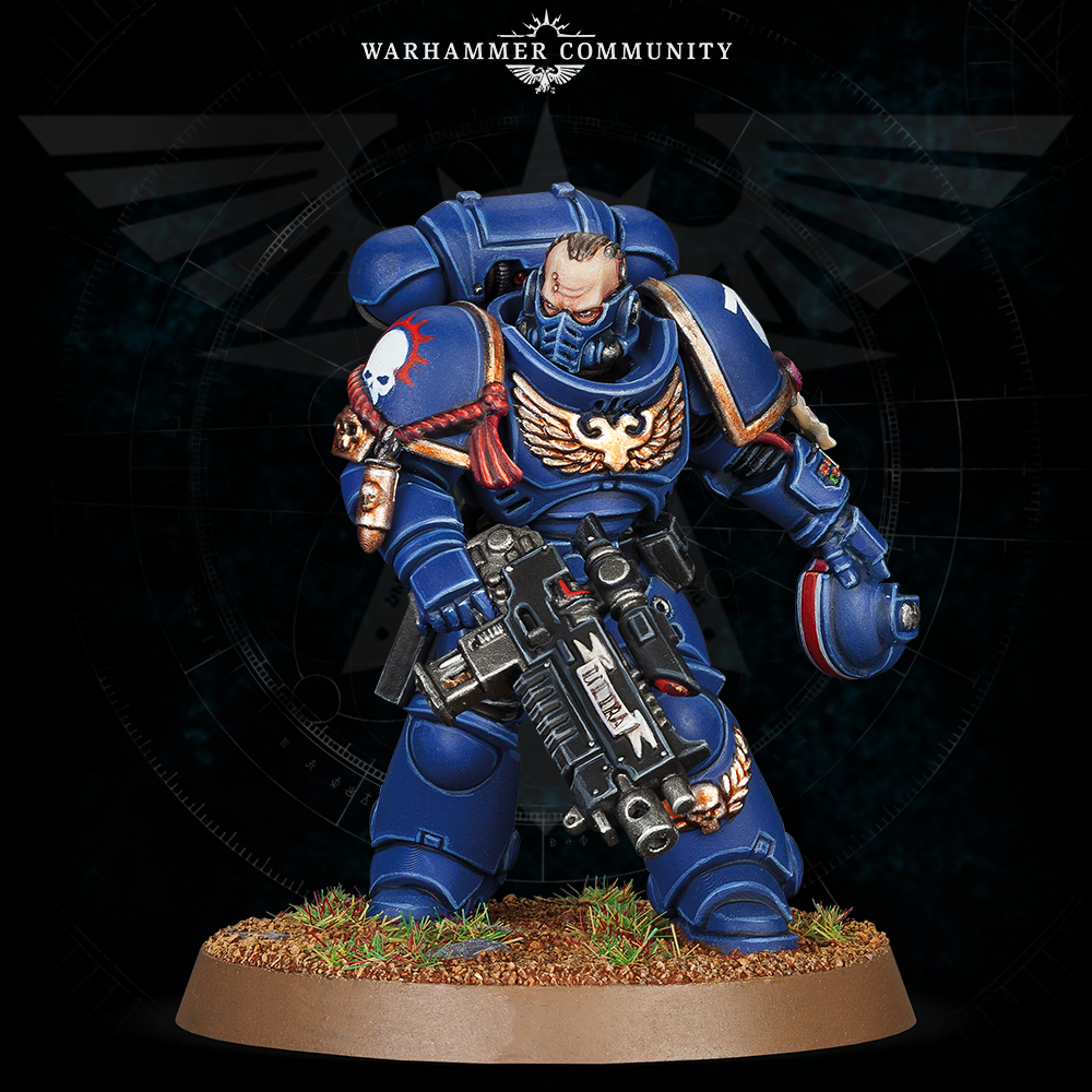Primaris Lieutenant With Stalker Bolt Rifle - Games Workshop
