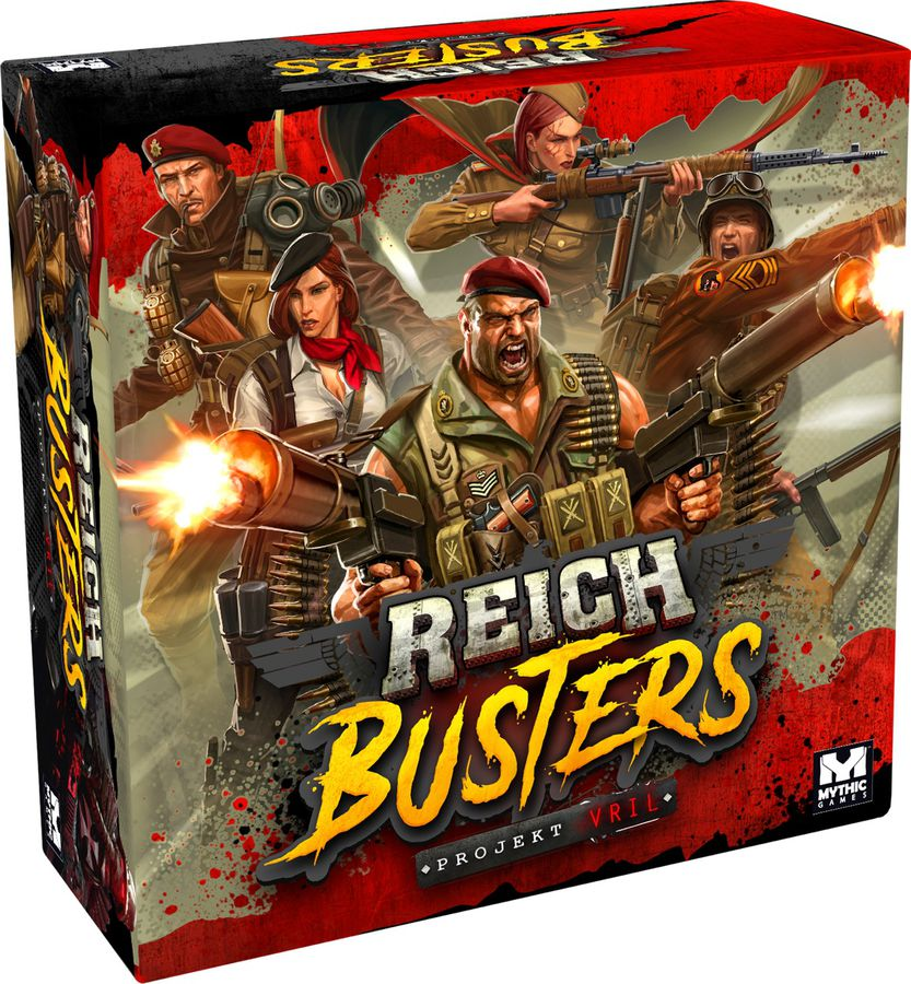 Reichbusters Prokect Vril Cover - Mythic Games