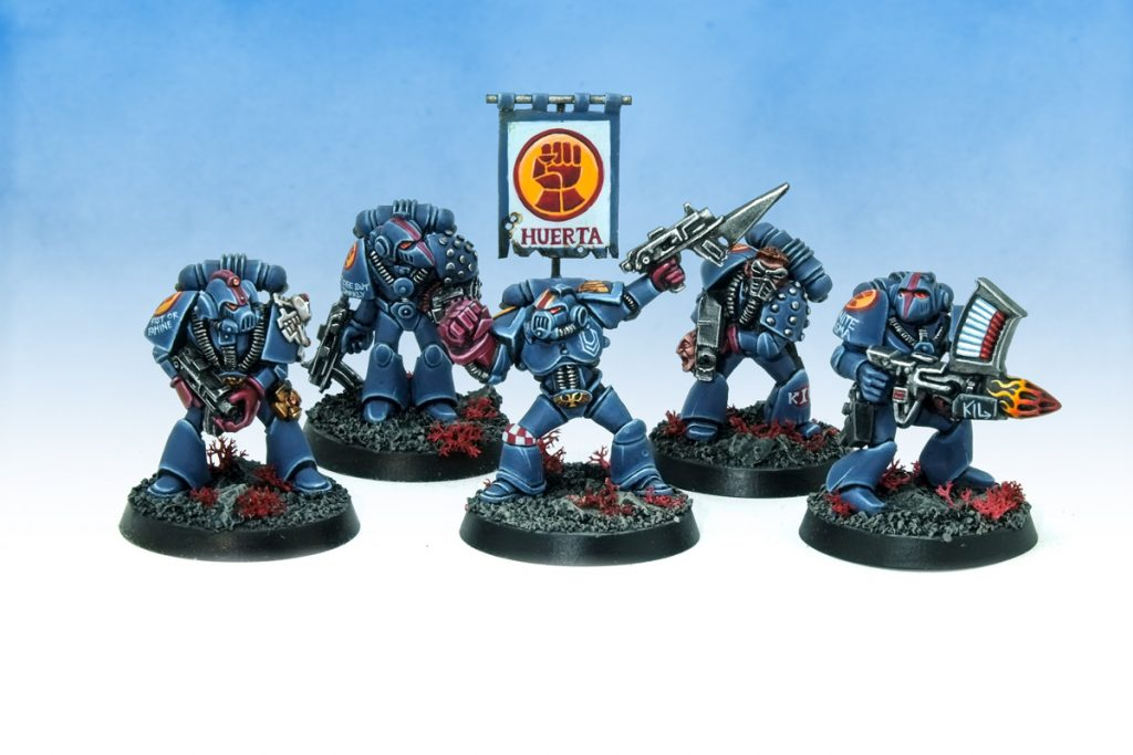 Rogue Trader Crimson Fists #1 - curis