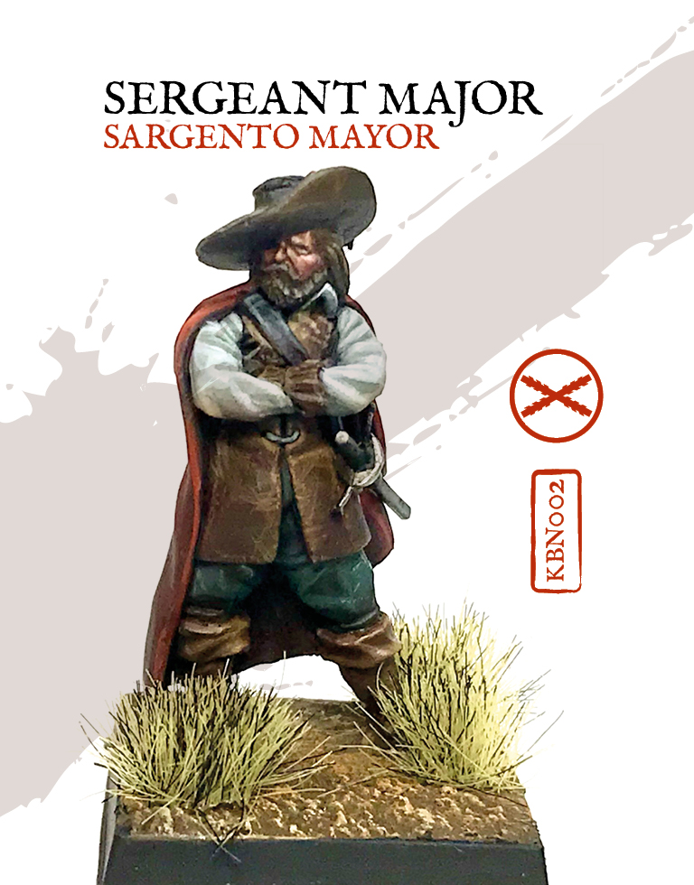Sergeant Major - Zenit Miniatures