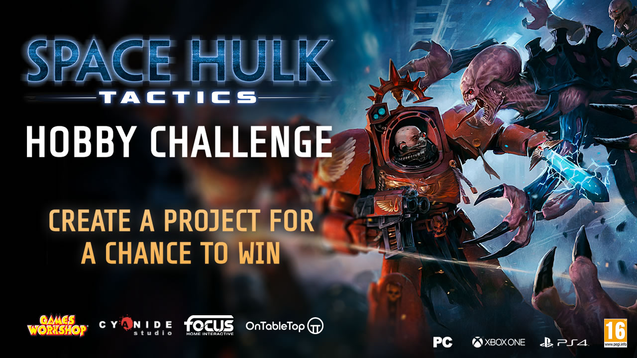 Space Hulk Tactics Hobby Challenge: Create A Project For A Chance To