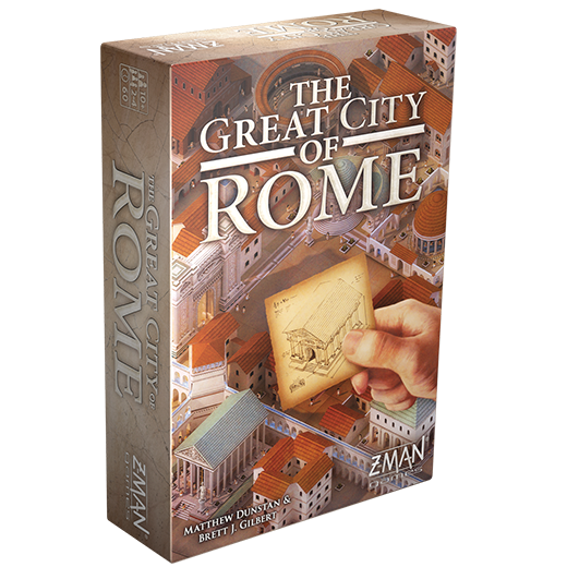 The Great City Of Rome - Z-Man Games