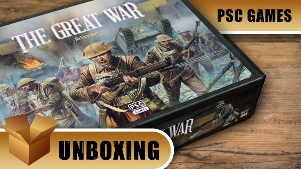 Unboxing: The Great War Centenial Edition