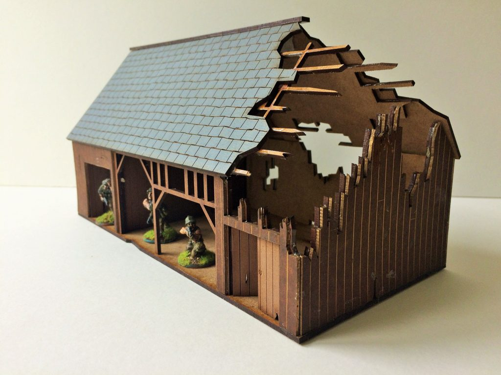WWII Ruined Barn - Empires At War