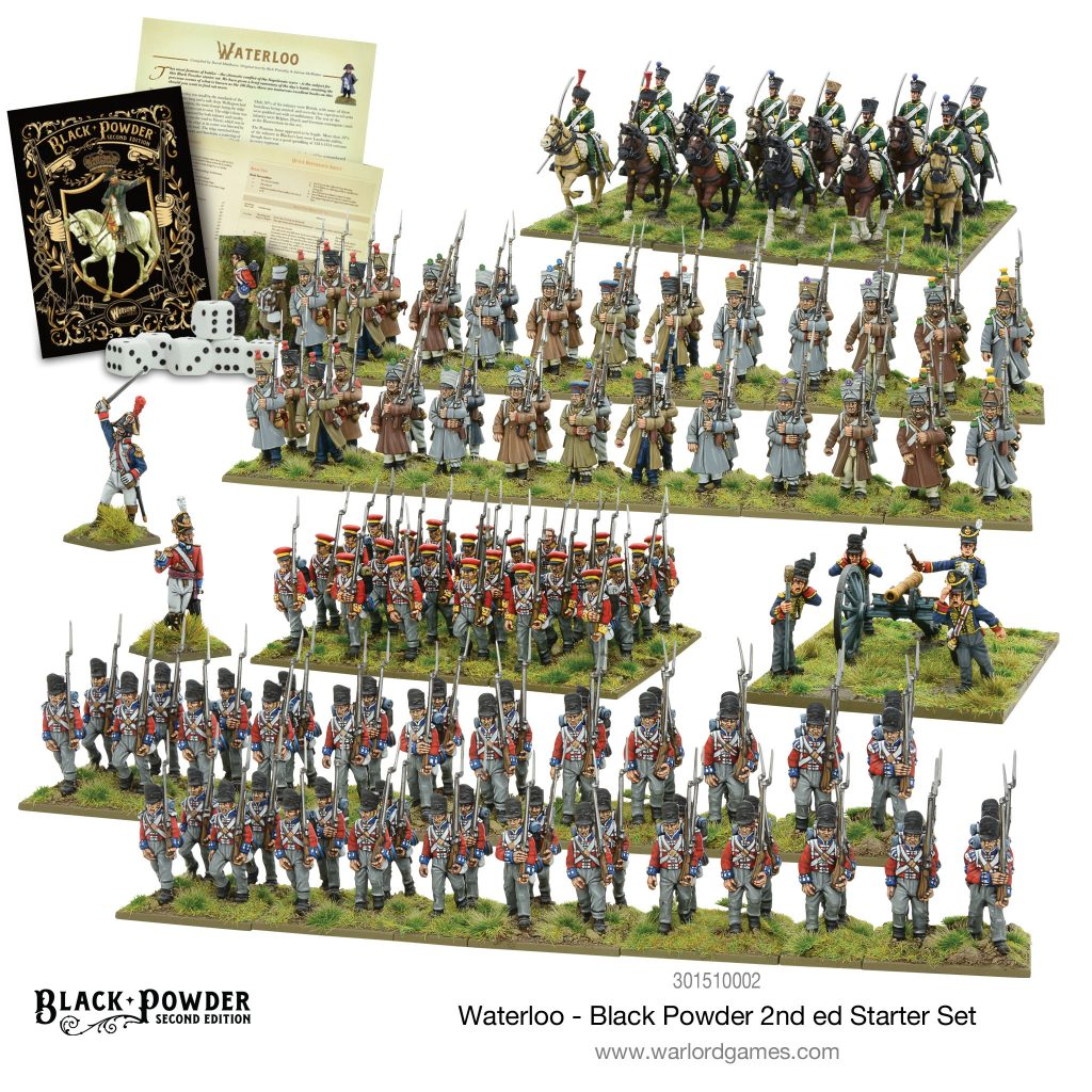Waterloo Black Powder Starter Set - Warlord Games