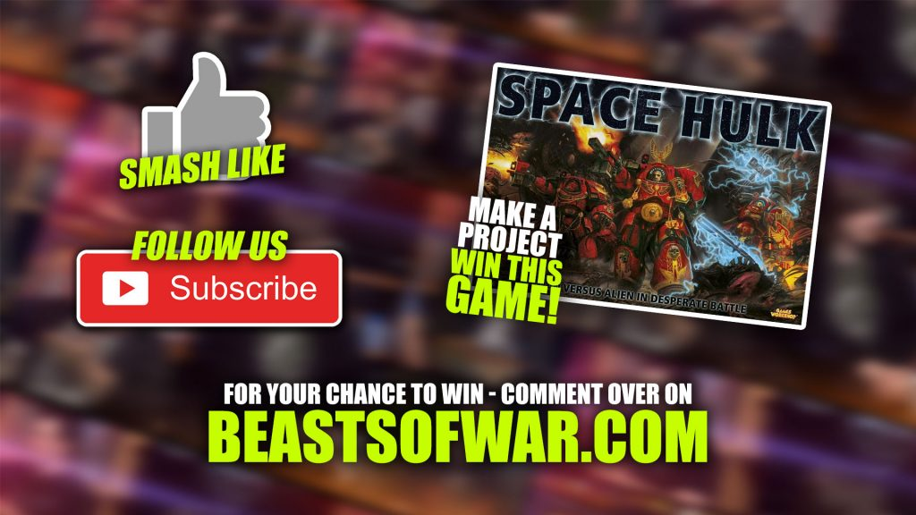 Weekender: Win Warhounds & Beer Steins + A Space Hulk Challenge!