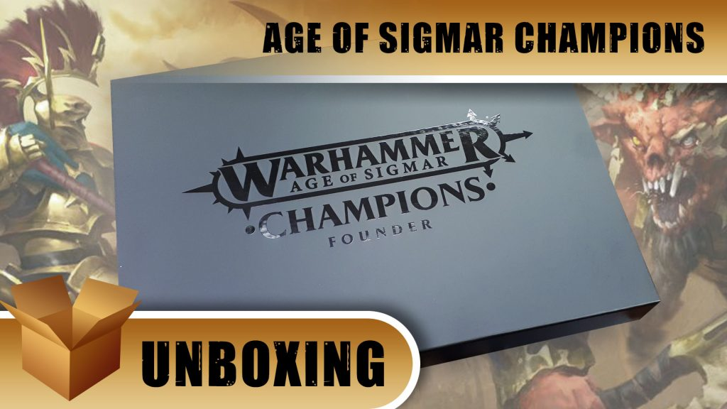 Age of Sigmar Champions Unboxing: Founders Pack