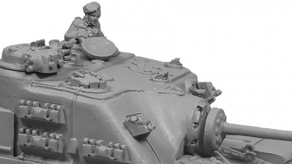Forged In Battle Brings A Experimental Tank To 15mm Wargaming
