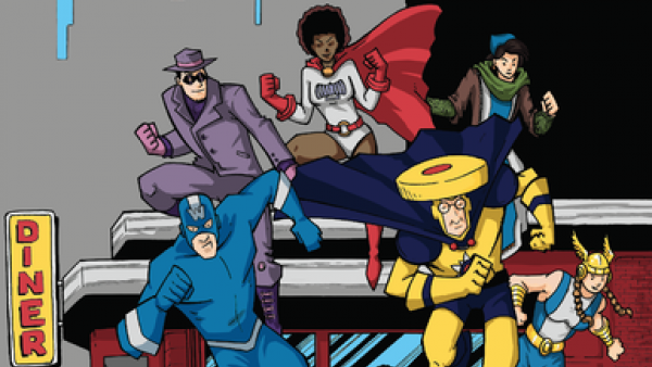 Superhero Service In Born To Serve On Kickstarter