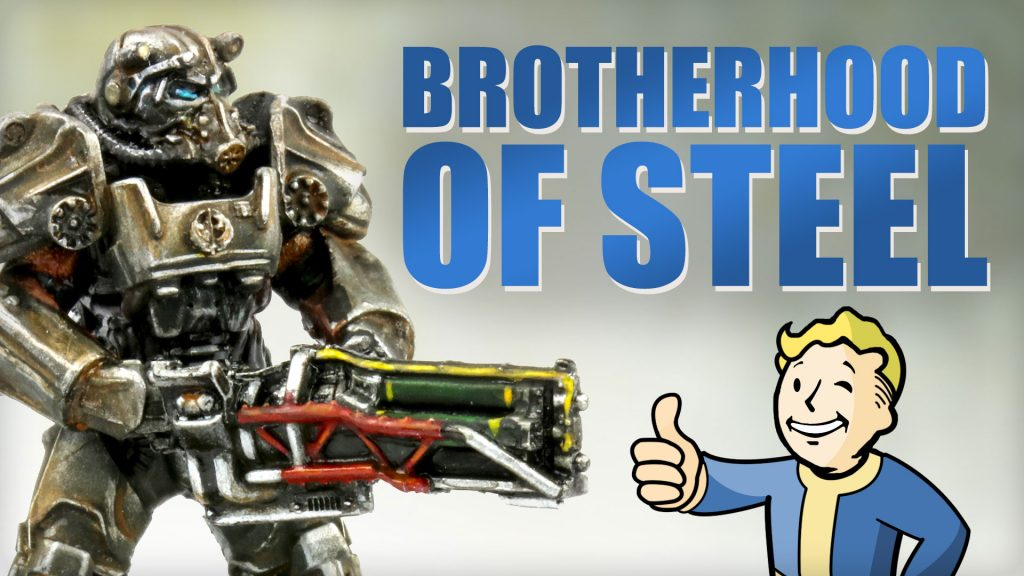 Fallout Wasteland Warfare Faction Chat: Brotherhood of Steel