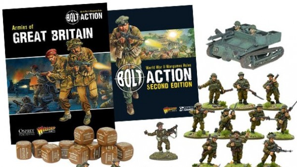 Expeditionary Brits Clash With Germans In New Bolt Action Sets