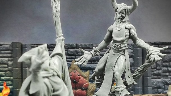 Zealot Miniatures' Twisting Catacombs Kickstarter Ending Soon