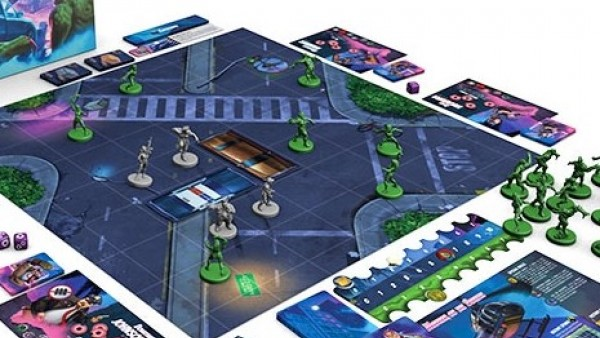 Hexy Hit The Streets With Hard City Kickstarter Today