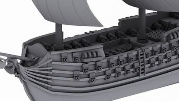 Minairons Miniatures Showcase A New Ship Of The Line