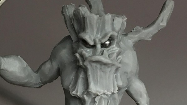 Trish Carden Sculpts Up A Mighty Ent For Lucid Eye