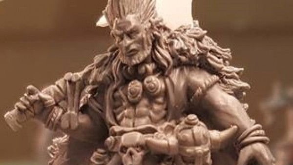 Lucid Eye Tease New Model From The Elf King Troll Wars Expansion