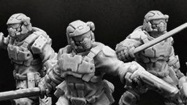 Puppets War Suit Up In Their Trooper Veteran Armour