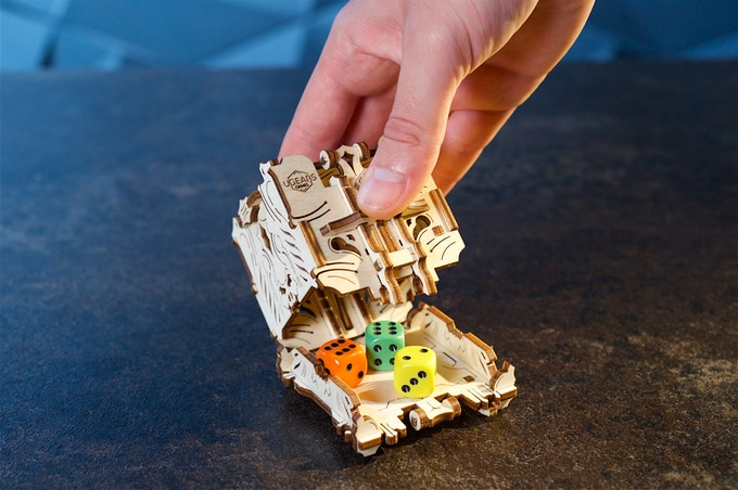 Ornately Organize Your Games With UGears On Kickstarter