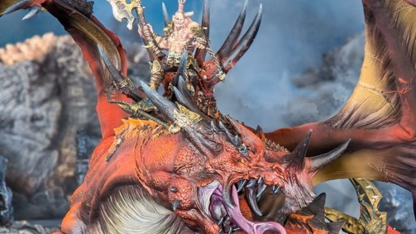 Forge World Unleash The Bloodthirsty Dragon Vorgaroth The Scarred