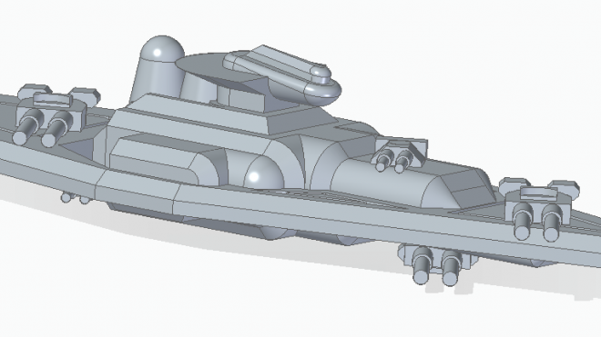 3D models and Prints of Ships for Darkstar