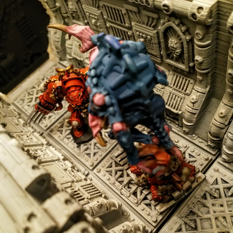 Space Hulk Terminator with Broodlord