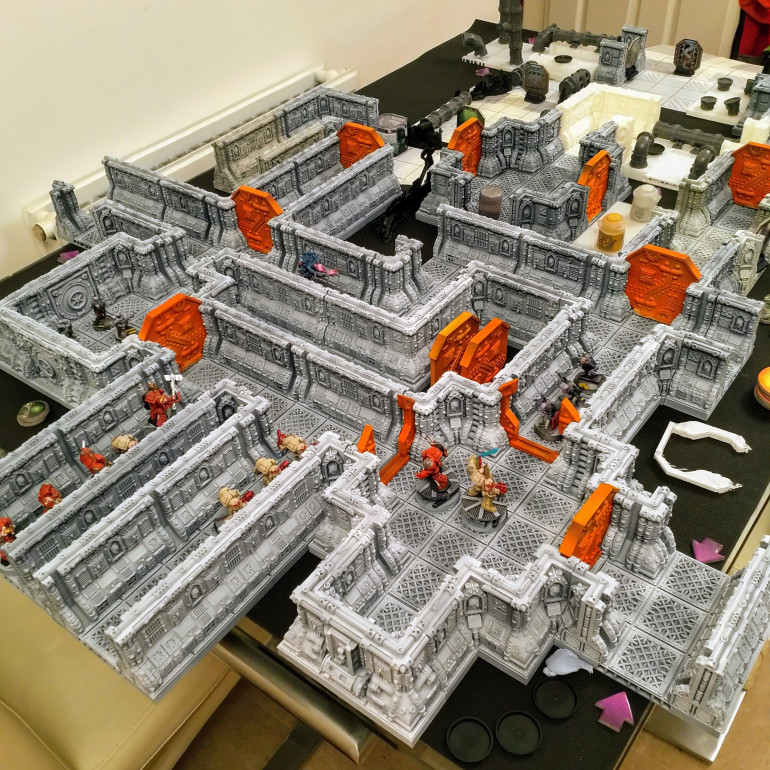 Space Hulk 3d Printed Board