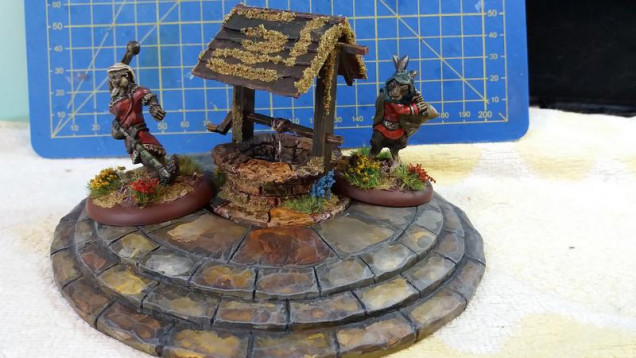 And the well is completed, which is one less thing on the list of stuff to do for Salute :D