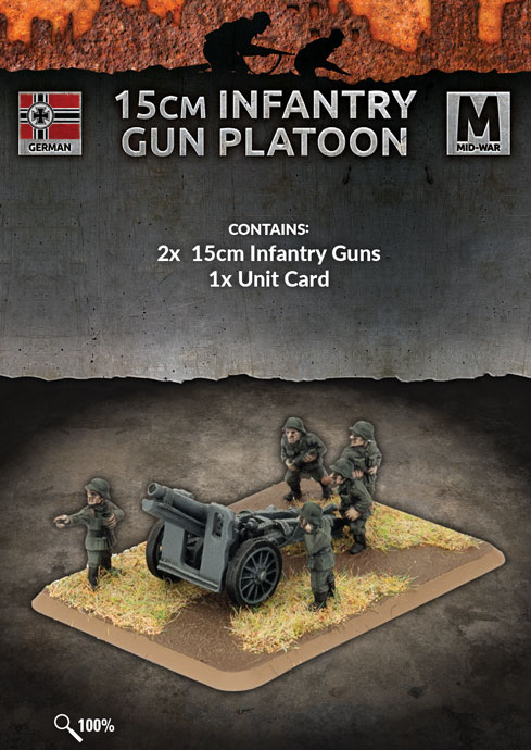 15cm Infantry Gun Platoon - Flames Of War