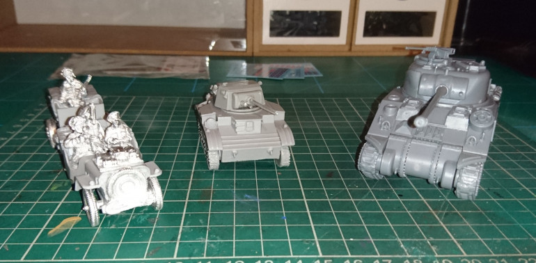 It's not much, but I've got these three built in the time I've had. Sadly not primed yet due to lack of daylight.
