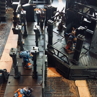The Space Hulk board