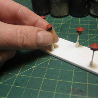Readjusted  the jig I used for painting heads.