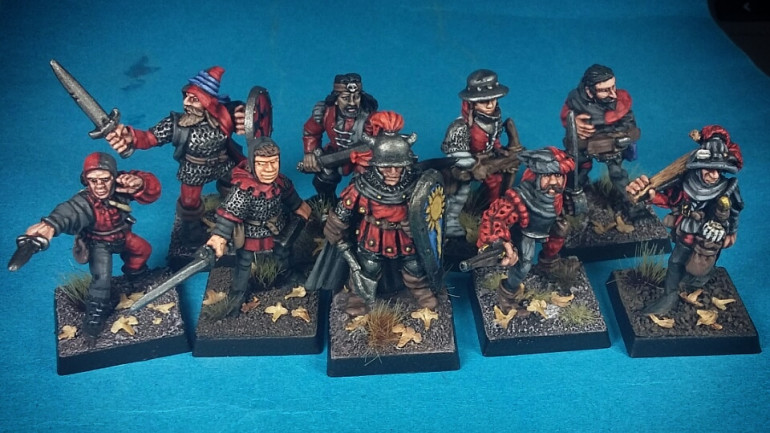 Carroburg Warband Nears Completion!