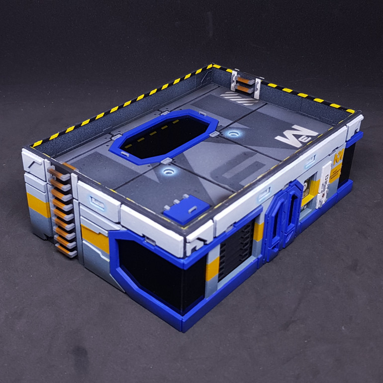 Front side of Main Management Module 3.