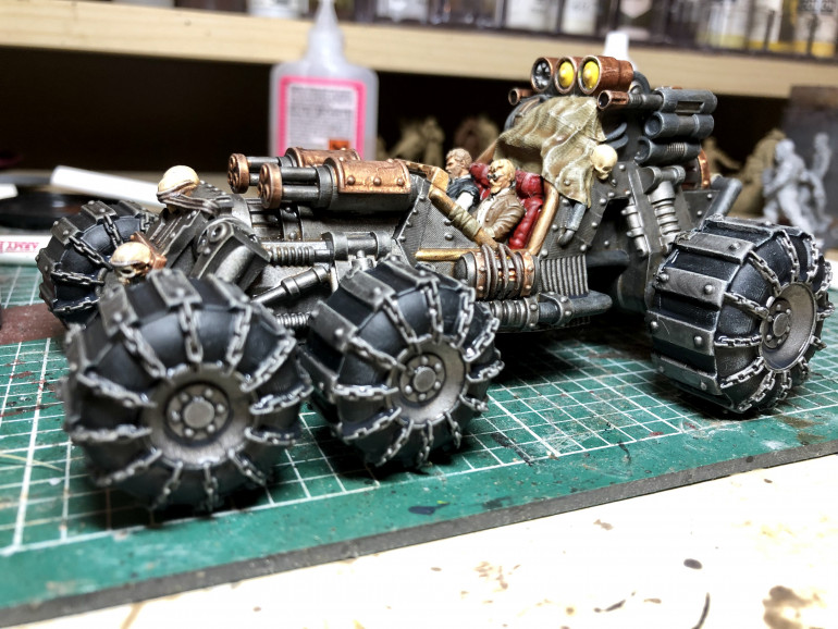 Its getting there, i think i need a final going over with various shades of army painter dip