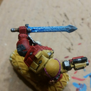 Painting the power sword