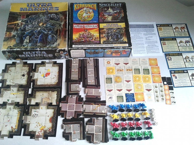 Ultra Marine Board game Contents