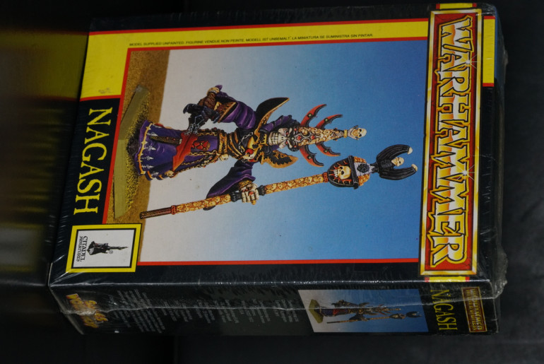 I put of painting that Nagash for several months after purchase... this one pictured... 20 years at least... and counting.  Might just be a chunky block of rust by now!! Too scared to open the shrink wrap lest the powdered form of Nagash sprays out.  Somethings... were never meant to be opened...