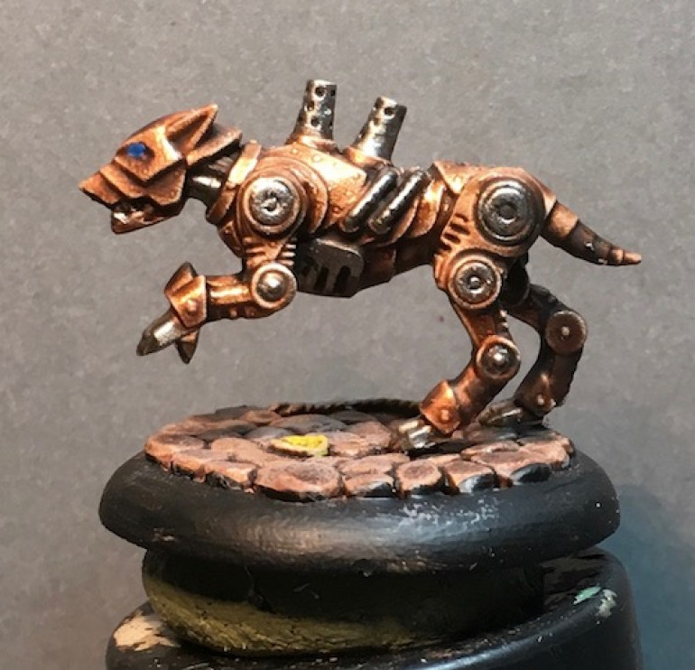 This fellow is looking close to finished.
