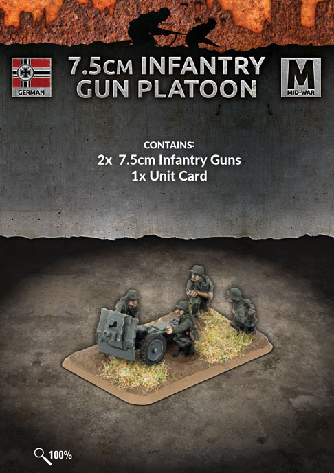 7.5cm Infantry Gun Platoon - Flames Of War