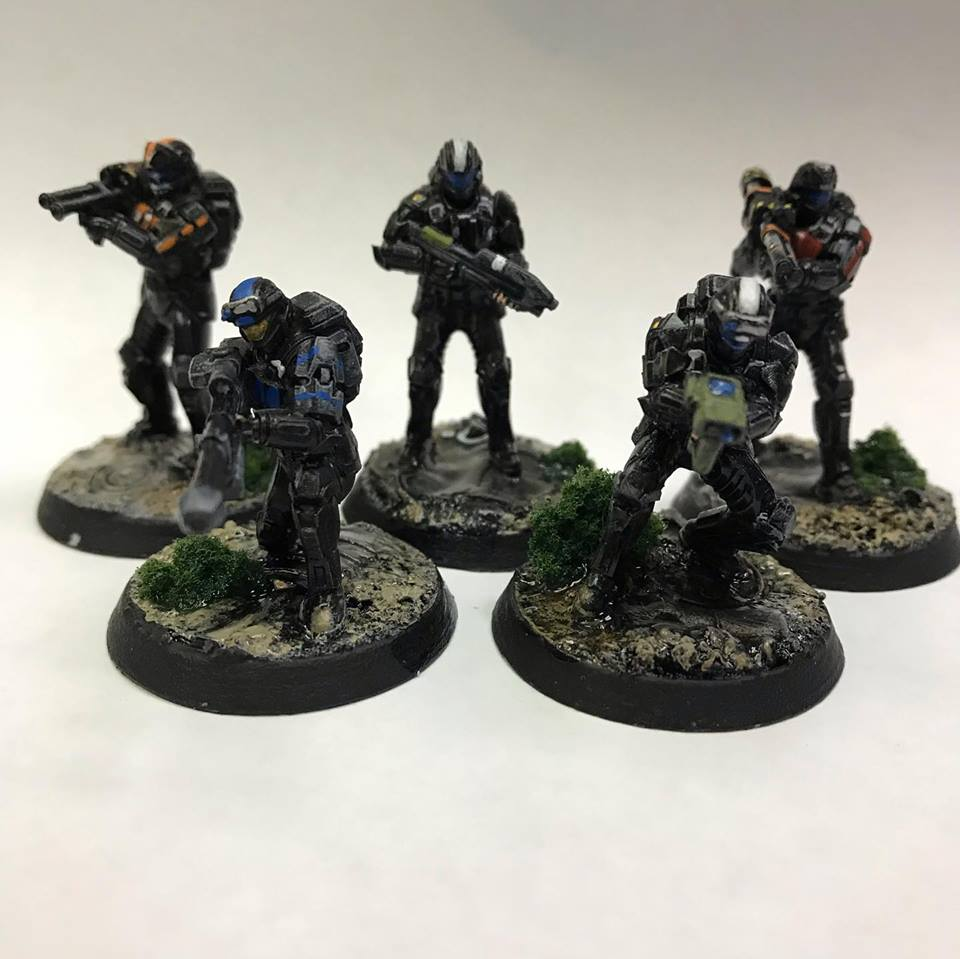A Spartan 3 and ODSTs in a 40k Kill Team – OnTableTop – Home