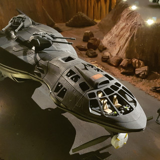Test Photos of the Printed Scout Ship