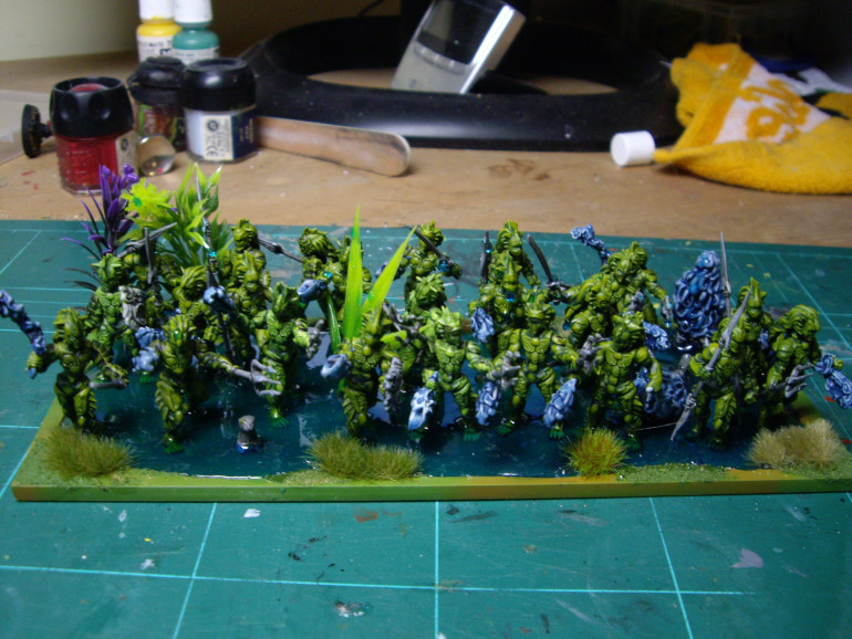 Finished Horde of Naiad Ensnarers