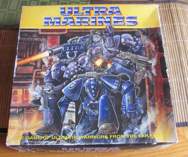 Ultra Marine Board Game Box