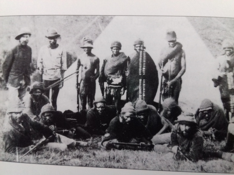 Officers and men of the 2nd regiment of the NNC