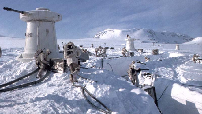 THE HOTH BATTLEFIELD