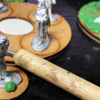 Basing, Cobbling the Via, Part One