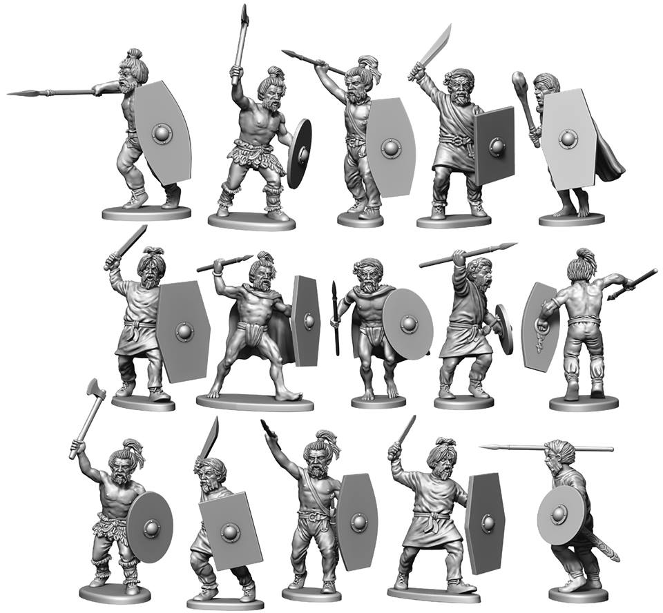 Ancient Germanic Warriors - Victrix